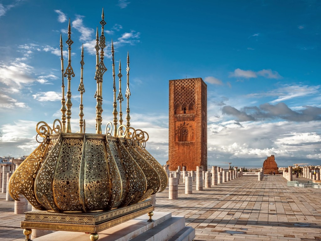 Rabat-Hassan tower