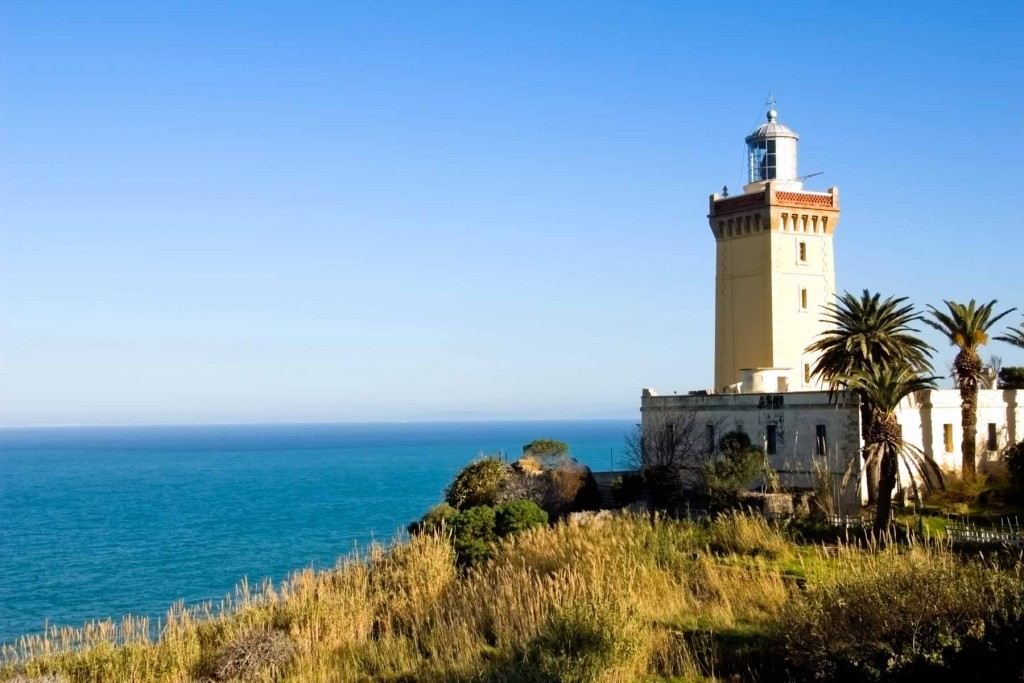 The Cap Spartel Lighthouse near Tangier