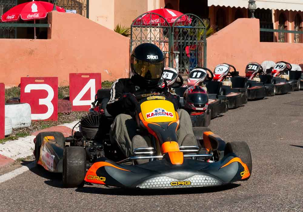 Take the family karting for some high speed fun