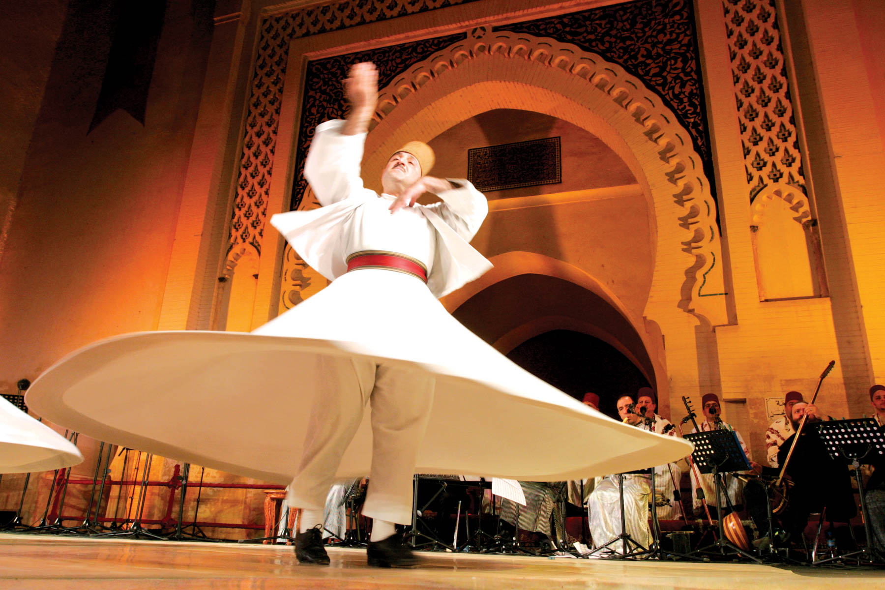 The World Sacred Music Festival attracts performers from across the globe