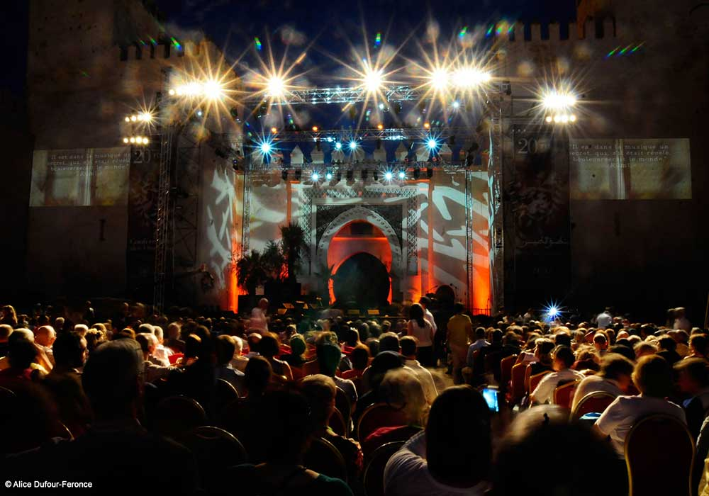 Open air concerts are held at Bab Al Makina