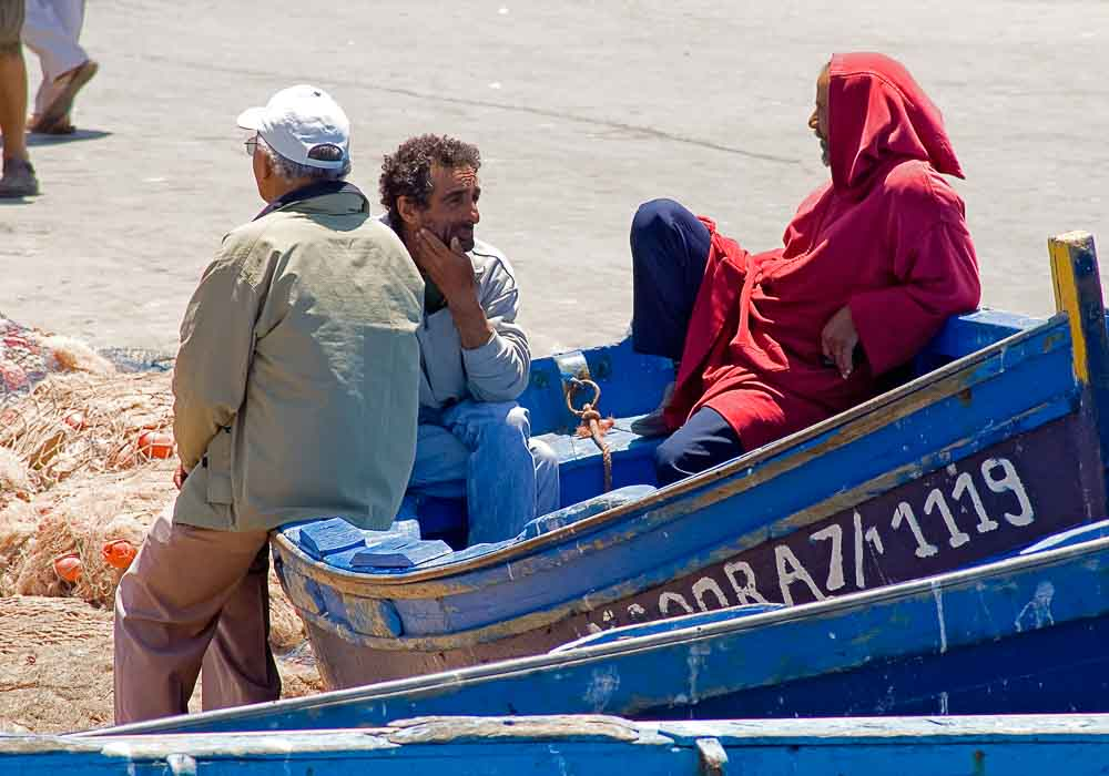 Essaouira fishing boat