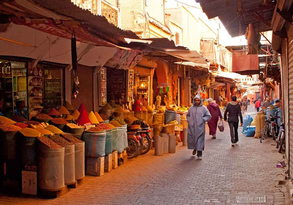 In The Spice Souk