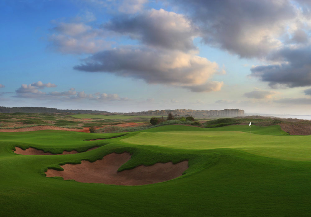 The golf in Mazagan is spectacular