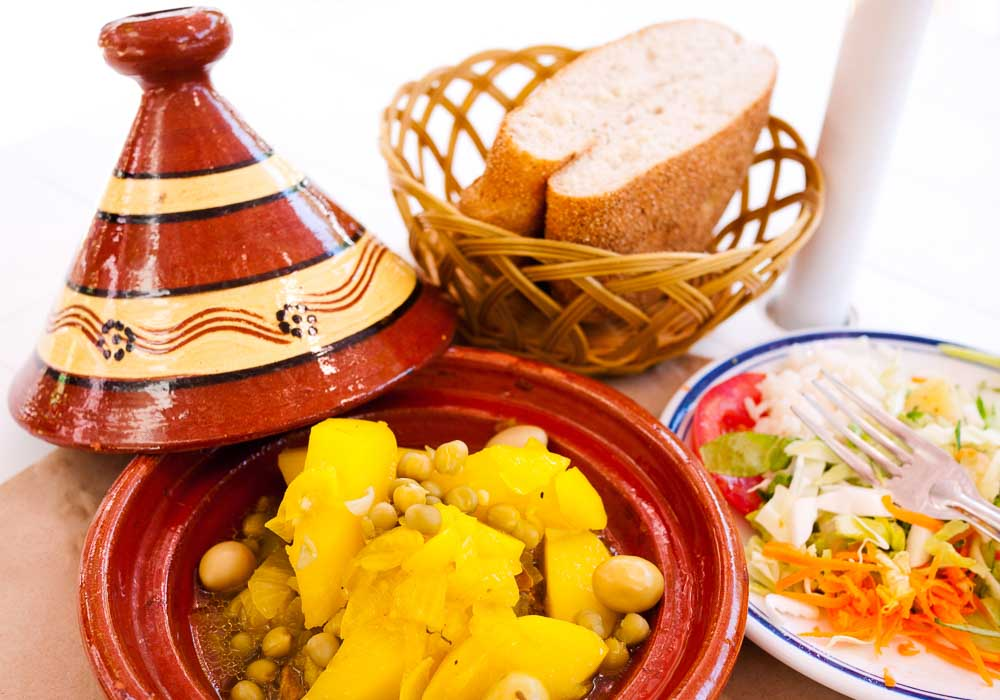 Tagines in Fez