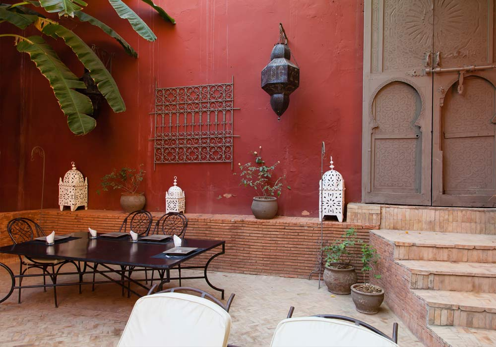 A Riad in Rabat