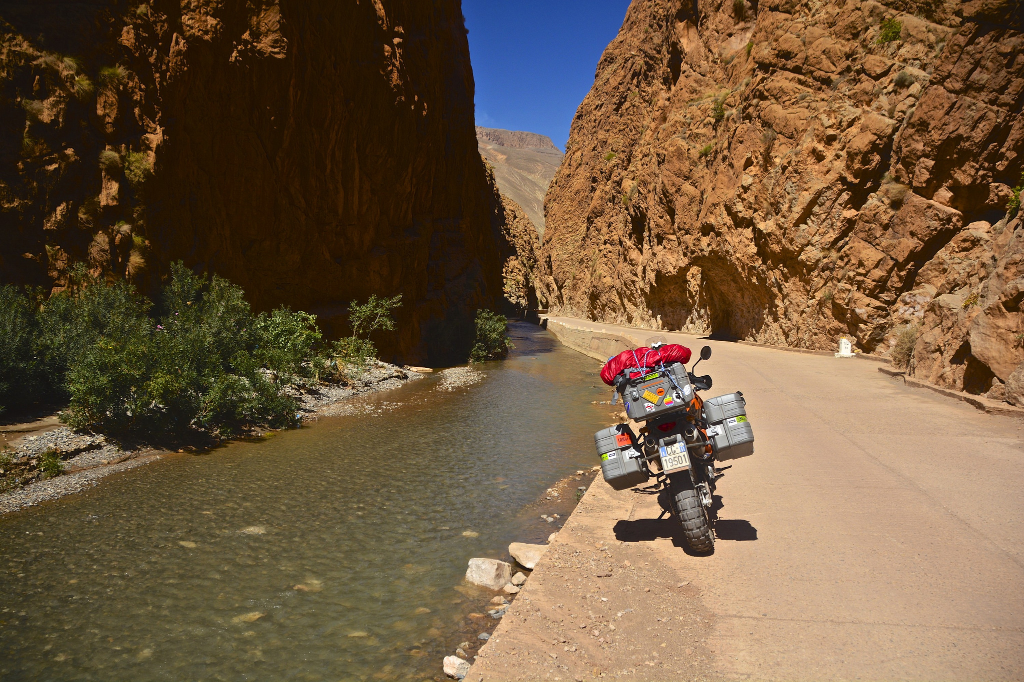 Motorcycling Gorges Du Dades