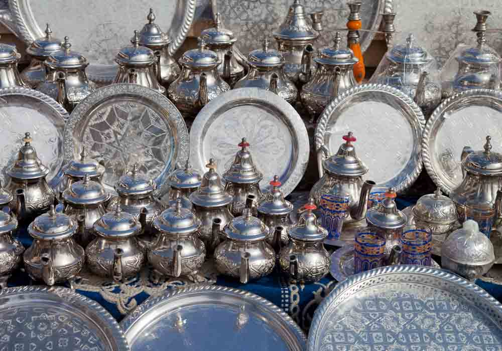 Silver teasets