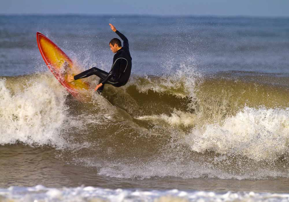 Surfing in Mazagan