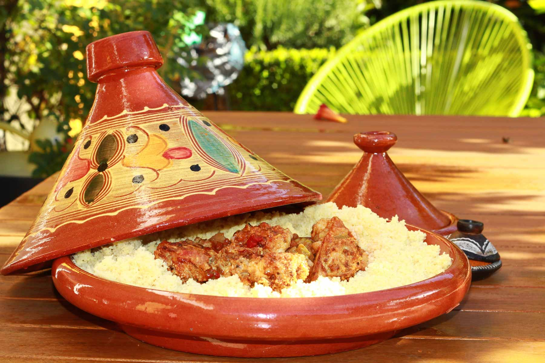 A tagine, perhaps Morocco's most famous cuisine?