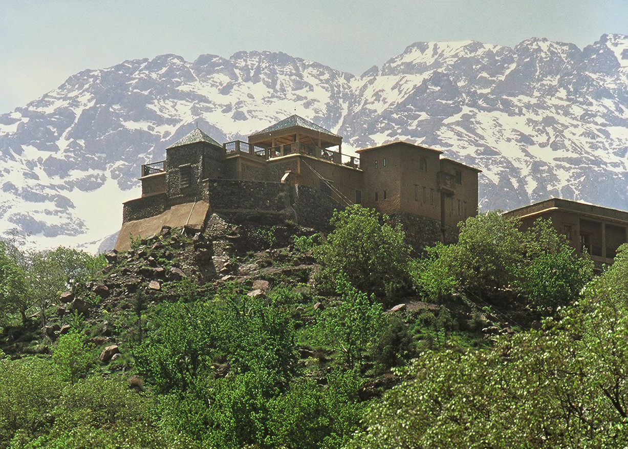 Toubkal mountains
