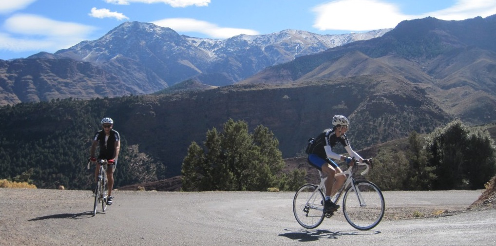 Cycling through the Atlas Mountains