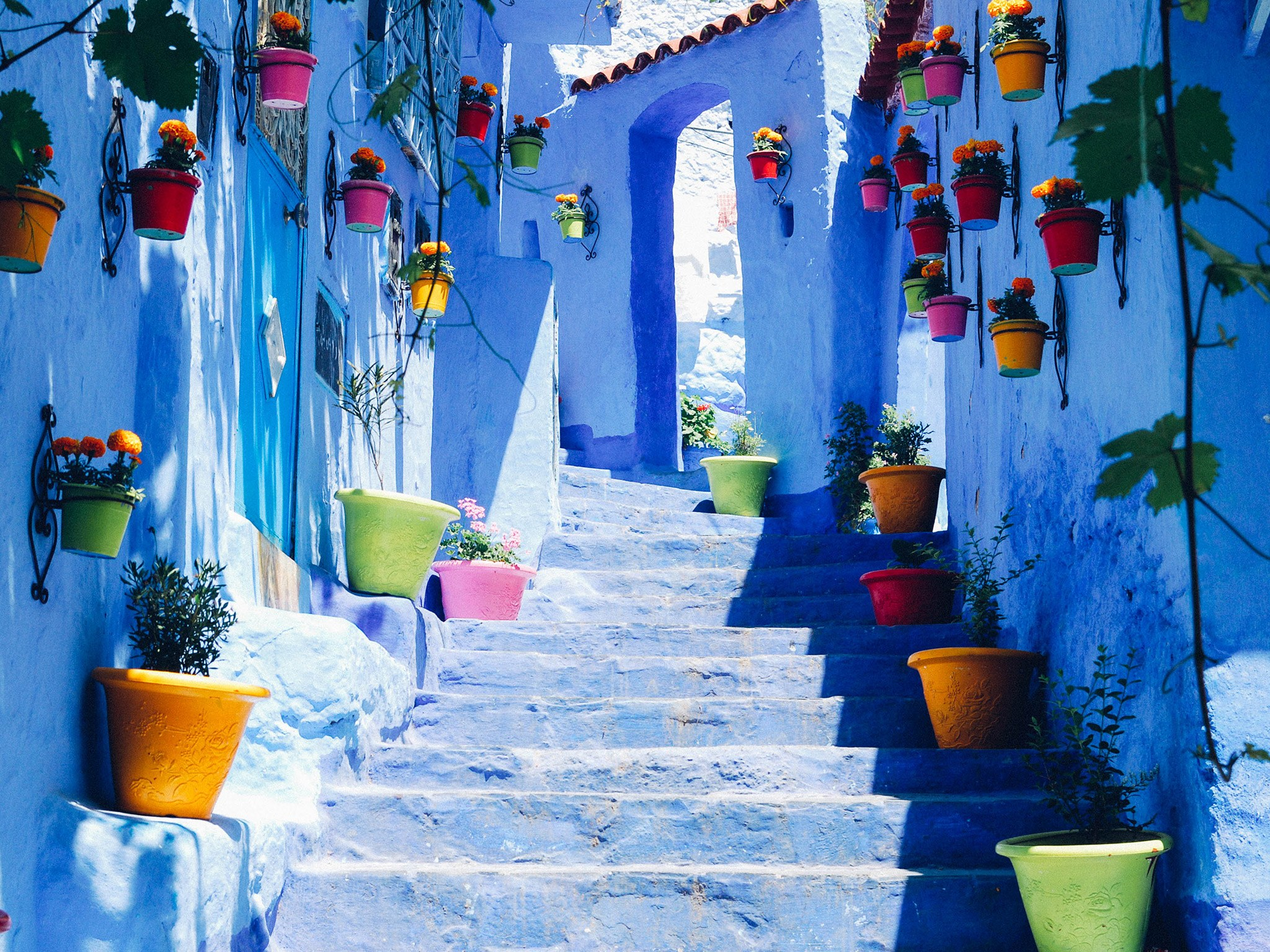 Streets of Chefchaouen