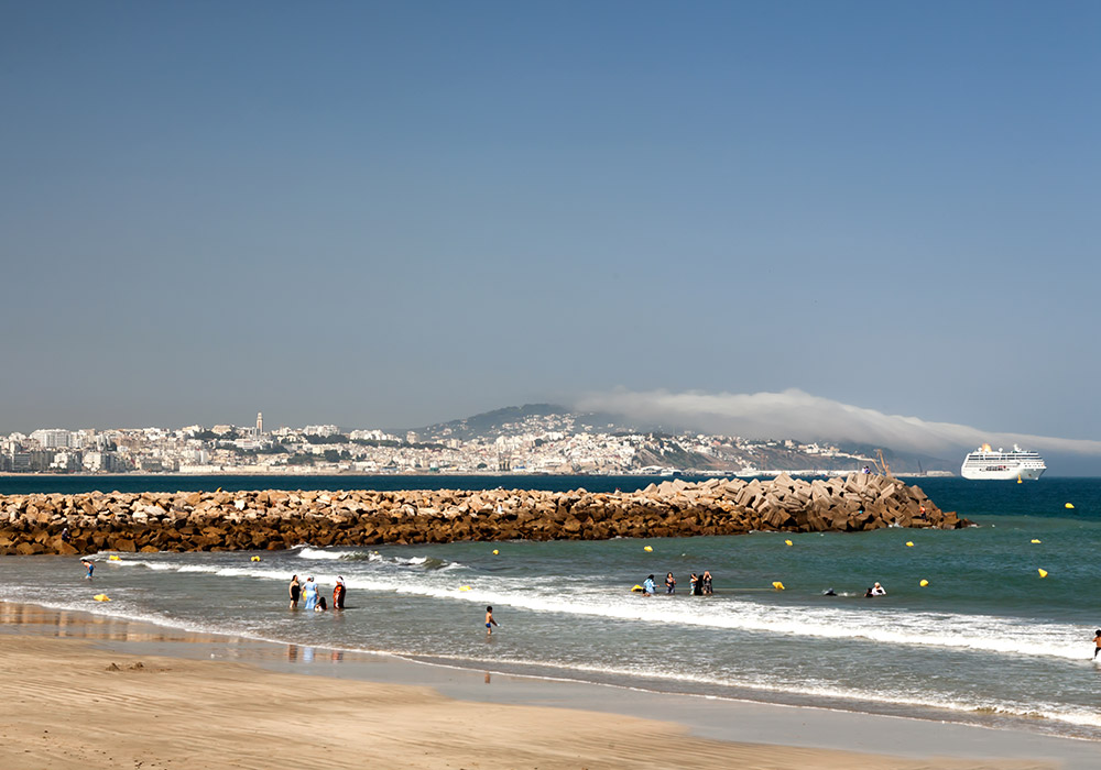 Asilah occupies a spectacular position on the Moroccan coast
