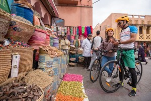 Cycling through Morocco